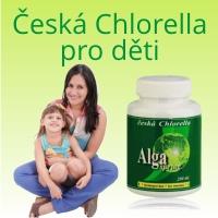 Česká Chlorella pro děti - Alga spring 200 tablet